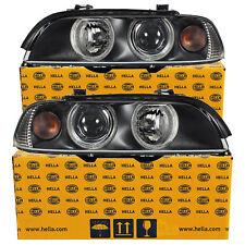 Hella Scheinwerfer Set für BMW 5er E39 Bj. 00-03 Facelift H7/H7 + Stellmotoren