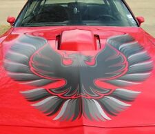 1978 - 81 TRANS AM COMPLETE DECAL KIT W/ 1 PC HOOD BIRD - SILVER - GM LICENSED!
