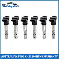 Set of 6 Ignition Coils for Audi A6 Allroad Quattro 6 Cylinder 2.7L Twin Turbo