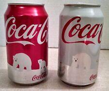 Coca-Cola 2011 U.S. Protect the Polar Bear's Home Coke Cans, Empty