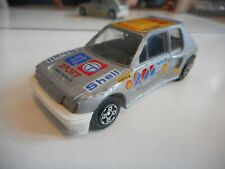 Bburago Burago Peugeot 205 Turbo 16 in Grey on 1:43