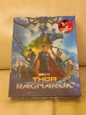 Thor Ragnarok Blufans Blu-ray Steelbook, double lenticular version, Mint/Sealed