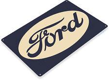 TIN SIGN Ford Retro Metal Décor Parts Auto Shop Garage A378
