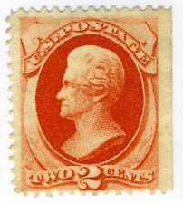 1875 2c A Jackson, vermilion (SC# 178) UNUSED