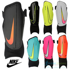Nike Youth Charge Football Shin Pads Boys Kids Soccer Hockey Ankle Guards Sports