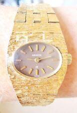 Reloj De Pulsera Vintage Suizo Sandoz 17 Joyas Señoras Chapado en Oro Para La Venta
