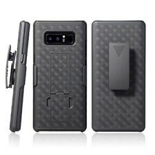For Samsung Galaxy Note8 Holster Belt Case Combo with Screen Protector Cover