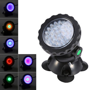 Pond Light Waterproof IP68 Submersible  Remote RGB Color Changing With