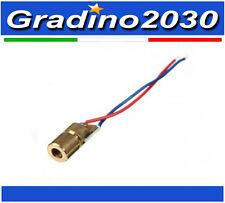 650nm 5mW Diodo Laser 3V Rosso