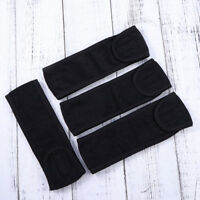 3Pcs Facial Headband Soft Hairband Make Up Wrap for Ladies Women with Magic Tape