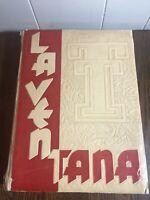 Vintage 1947 LA VENTANA Yearbook Texas Tech Lubbock , Texas