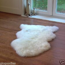 Genuine Sheepskin Rug Puffy Soft Thick Sofa Pad Real Floor Rugs-Ranges of Sizes