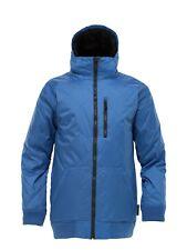 Men's Burton RA Just Jacket Snow Winter Ski Snowboard Mascot Blue Size XL