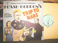 Flash Gordon's Trip to Mars OST lp gordon buster crabbe '76 '38 mono rare vinyl!