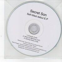 (DS559) Secret Son, Self-titled debut EP - 2013 DJ CD