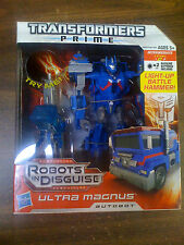 Transformers Prime RID Light Up Battle Hammer Ultra Magnus NEW FREE SHIP
