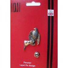 Falcon Para Manopla Pin De Solapa Insignia Falconer Guante de aves de presa Regalo De Cumpleaños
