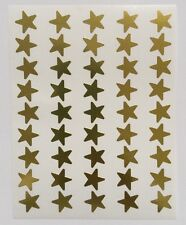 45 13mm Large Gold Foil Stars Shiny Reward Stickers For Charts/Teachers