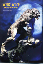 """12""""The American WERE WOLF Creature Horror Resin Model Kit 1/6"""
