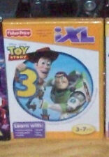 FISHER PRICE iXL I XL TOY STORY 3 LEARNING SYSTEM GAME WOODY BUZZLIGHT YEAR