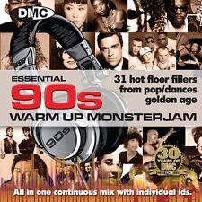 New DMC Essential 90s Warm Up Monsterjam DJ CD - Ivan Santana Megamix Ninties