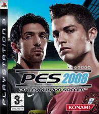 Videogame Pro Evolution Soccer - PES 2008 IMPORT PS3