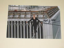 PHILIPPE PETIT Signed 4x6 MAN ON WIRE Photo AUTOGRAPH