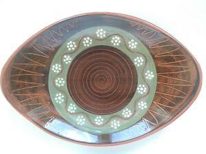 Handmade in Norway Slipware Bowl Graveren Keramikk?