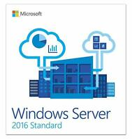 Windows Server 2016 Standard Key Product Code 32-64 bit Genuine License Instant