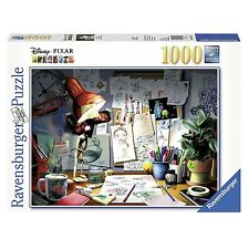 Ravensburger Disney Pixar The Artist's Desk 1000-Piece Jigsaw Puzzle For Age 12+