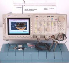 Tektronix TDS724D DPO Oszilloskop 500 MHz FFT 1 Gs/s + 2x P6139A Probe +Manual