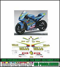 kit adesivi stickers compatibili gsxr 600 750 1000 rizla moto gp 2006