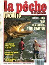 Revue  La pêche et les poissons No 550 Mars  91
