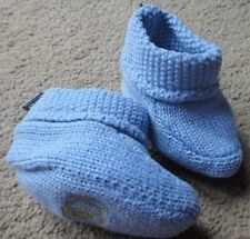 Cotton Blend Slip - on Medium Width Baby Shoes