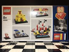 Lego 60th Anniversary Brick Set 40290 60 Years Of LEGO Brand New And Sealed