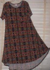 NUOVA CON ETICHETTA lularoe ~ Art to Wear ~ GEOMETRICI motivo Carly M