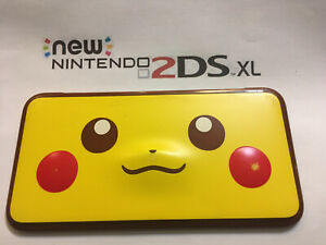 Nintendo used new  2DS XL Top Pikachu Outside Cover & Frame Repair Part