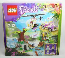 Lego Set 41036 Friends Jungle Bridge Rescue Mia and Matthew Car (Age 7-12) NEW