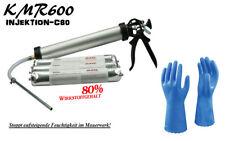 KMR600 Injektion C80 Abdichtung Mauerfeuchtigkeit feuchte Wände Horizontalsperre