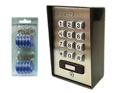 DK2852C Stainless Steel Keypad with Proximity Tag Reader