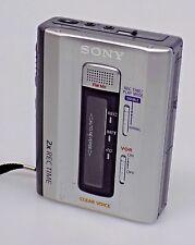 Sony TCM-500DV Portable Cassette Recorder Cassette-Corder for Parts or Repair
