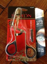 "NEW ! REVLON ""GOLD SERIES"" EYELASH/LASH CURLER 42009 TITANIUM COATING-FAST SHIP!"