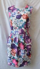 Knight Angel Size 12 Mini Dress Stretch Semi-Pleat Skirt Work Casual Holiday