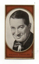 Maurice Chevalier 1936 Caid Film Star Cigarette Card #29