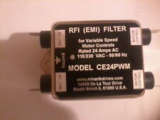 Minarik RFI (EMI) Filter. 24Amps AC 115-230V AC. Brand new in Box.