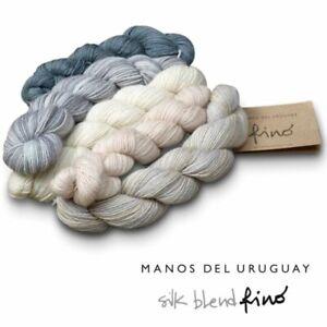 Manos Silk Blend Fino Mini-Skein Sets
