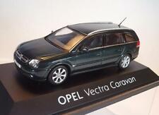 Schuco 1/43 Opel Vectra caravan verde oscuro/Metallic OVP #3536