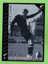 "1995 NEW ZEALAND  ALL BLACKS RUGBY UNION CARD  #45  DON ""THE BOOT""  CLARKE"
