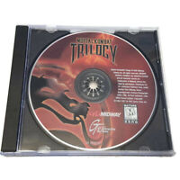 Mortal Kombat Trilogy PC CD-ROM Game I II III 1 2 3 Disc Only 1998 Midway