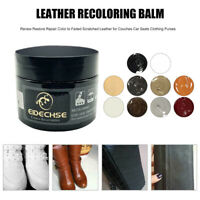 Leather Repair Paste Shoe Cream Leather Polish Coloring Agent Stain Wax 10 Color